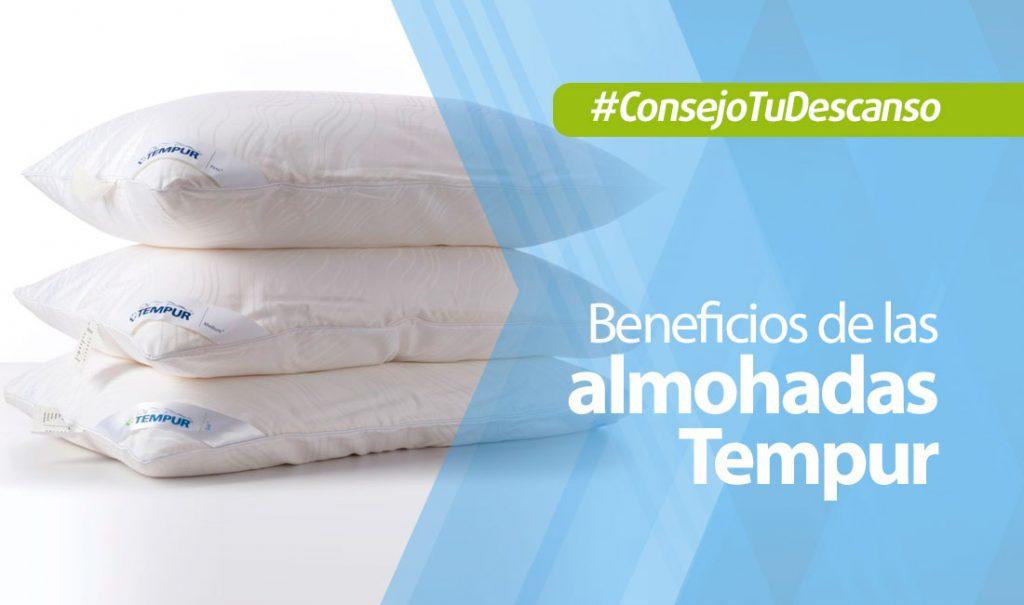 Beneficios de usar las almohadas Tempur
