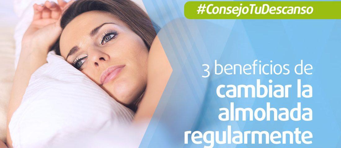 beneficios de cambiar la almohada