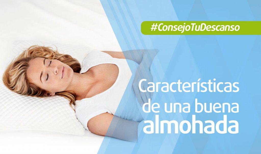 Características de una buena almohada para el mejor descanso