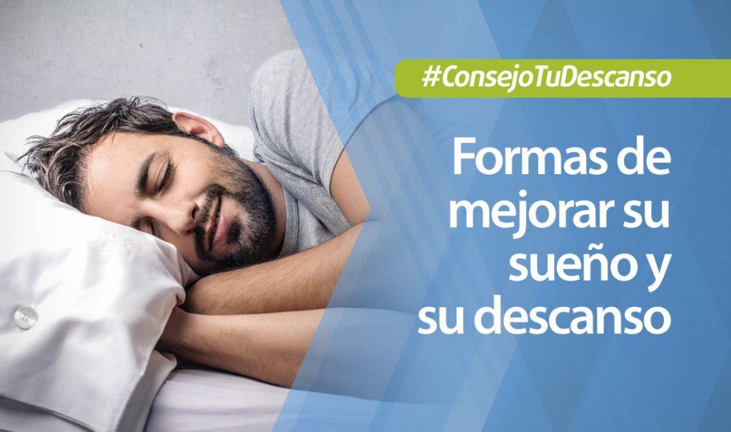 4 formas de mejorar la calidad de sus horas de sueño y su descanso
