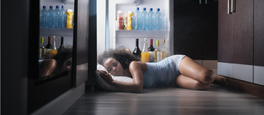 Dormir cuando hace mucho calor