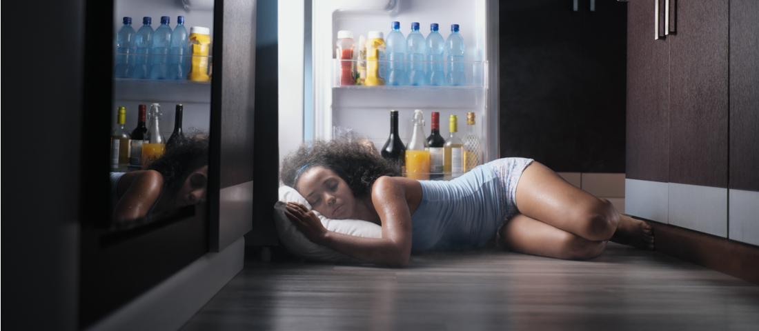 Dormir bien cuando hace mucho calor